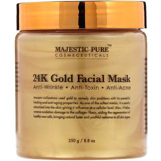 Majestic Pure, 24K Gold Facial Mask, 8.8 oz (250 g)