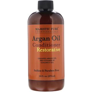 Majestic Pure, Argan Oil Conditioner, Restorative, 16 fl oz (473 ml)