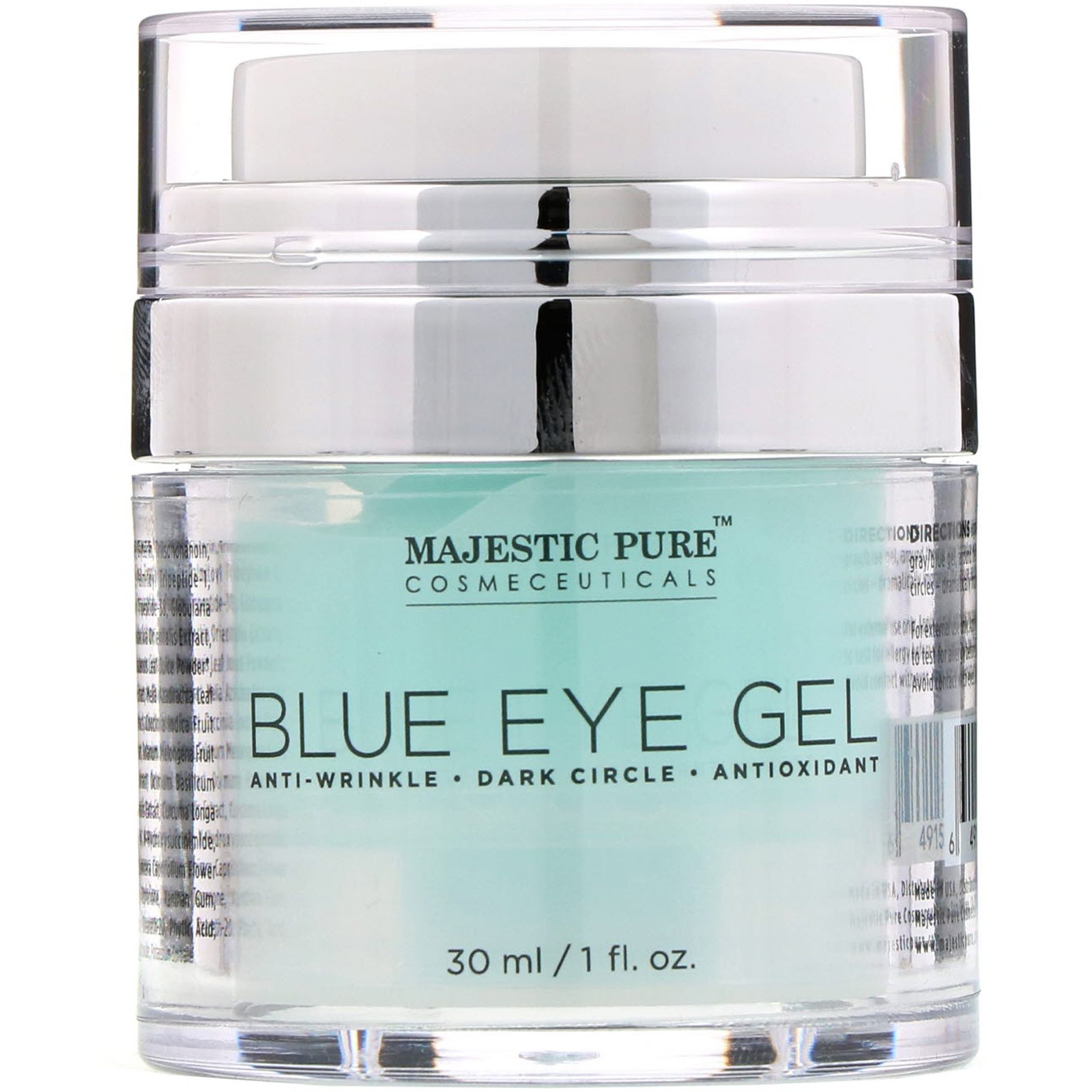 578e3a9d235 Majestic Pure, Blue Eye Gel, 1 fl oz (30 ml). By Majestic Pure. Click to  zoom