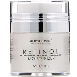 Majestic Pure, Retinol Moisturizer, 1 fl oz (30 ml)