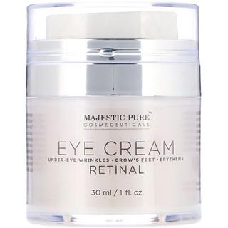 Majestic Pure, Eye Cream, Retinal, 1 fl oz (30 ml)