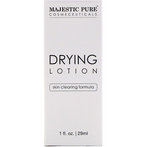 Majestic Pure, Drying Lotion, Skin Clearing Formula, 1 fl oz (29 ml) отзывы