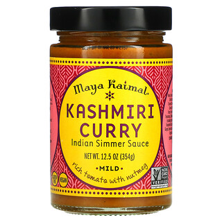 Maya Kaimal, Kashmiri Curry, Indian Simmer Sauce, Mild, 12.5 oz (354 g)