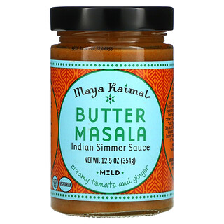 Maya Kaimal, Butter Masala, Indian Simmer Sauce, Mild, 12.5 oz (354 g)