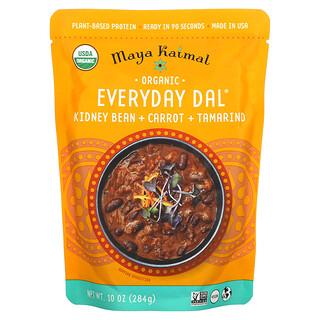 Maya Kaimal, Organic, Everyday Dal, Kidney Beans, Carrots, Tamarind, 10 oz (284 g)