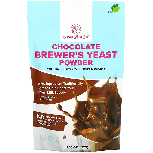 Chocolate Brewer's Yeast Powder, 11.35 oz ( 322 g)