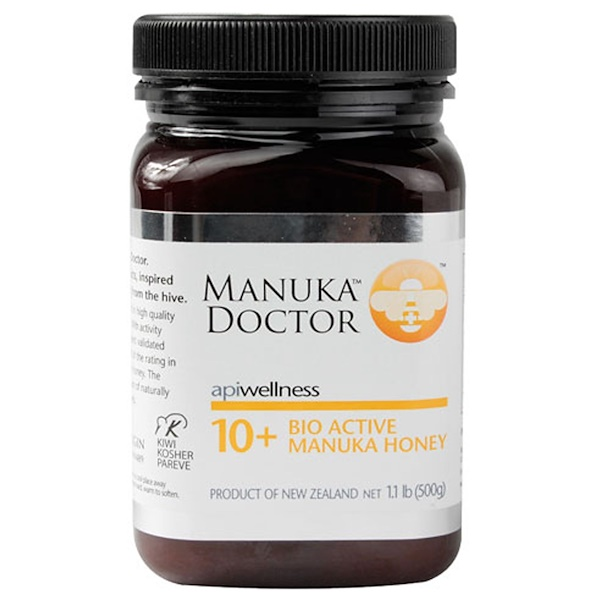 Manuka Doctor, Apiwellness, 10+ Bio Active Manuka Honey, 1.1 lb (500 g)