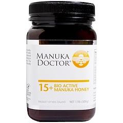 Manuka Doctor, アピウェルネス、 15+ バイオアクティブマヌカハニー、 1.1ポンド (500 g)