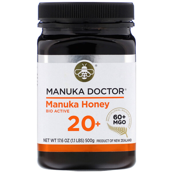 Manuka Honey Multifloral, MGO 60+, 1.1 lbs (500 g)