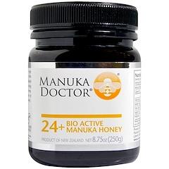 Manuka Doctor, 24+ عسل مانوكا النشط حيوياً، 8.75 أونصة (250 غ)