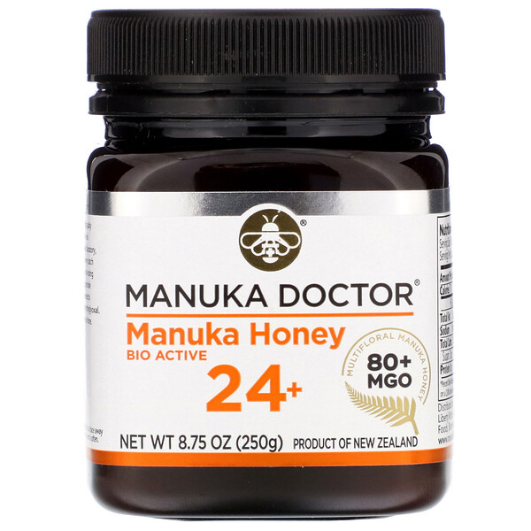 Manuka Honey 24+, MGO 80+, 8.75 oz (250 g)