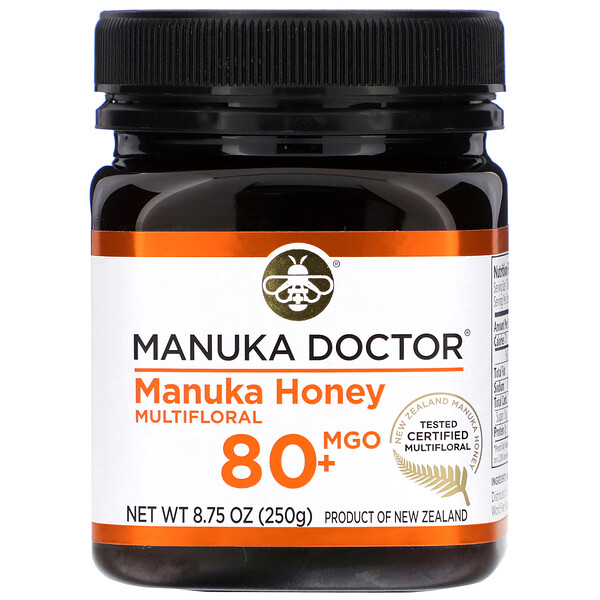 Manuka Doctor, Manuka Honey Multifloral, MGO 80+, 8.75 oz (250 g)