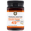 Manuka Doctor, Manuka Honey Multifloral with Ginger,  MGO 45+  , 1.1 lbs (500 g)