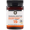 Manuka Doctor, Multifloral Manuka Honey, 15 + BioActive with Lemon , 1.1 lb (500 g)