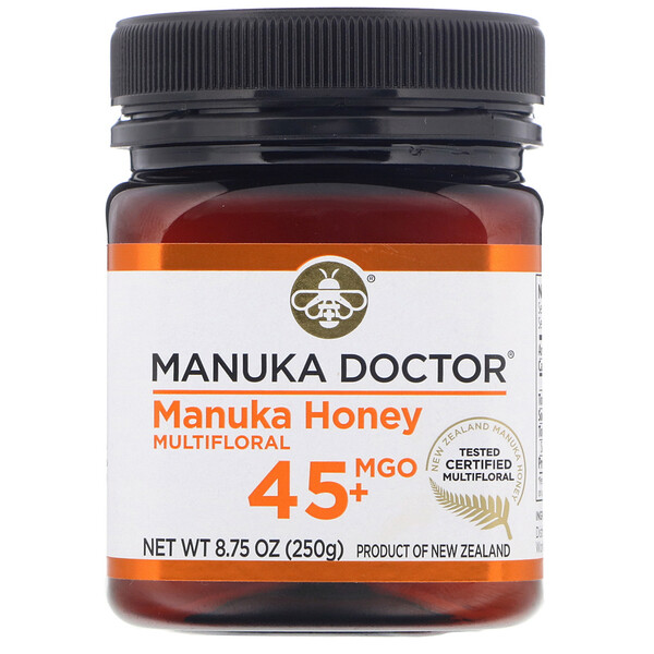 Manuka Doctor, Manuka Honey Multifloral, MGO 45+, 8.75 oz (250 g)