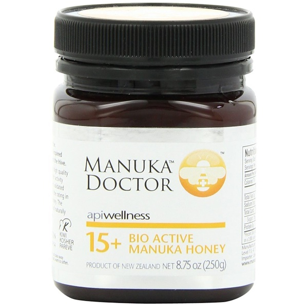 Manuka Doctor, Apiwellness, 15+ Bio Active Manuka Honey, 8.75 oz (250 g)