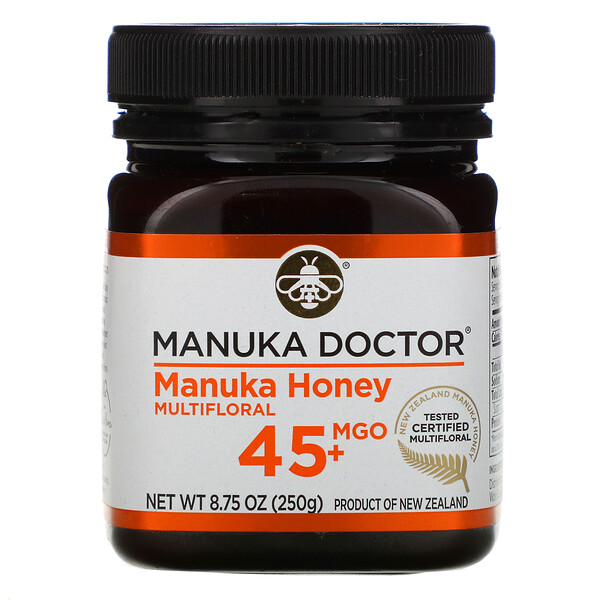 Manuka Doctor, 15+ Bio Active Manuka Honey, 250 גרם (8.75 oz)