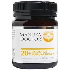 Manuka Doctor, 20種類以上の生理活性マヌカハニー8.75 オンス (250 g)
