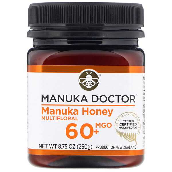 Manuka Doctor, Manuka Honey Multifloral, MGO 60+  , 8.75 oz (250 g)
