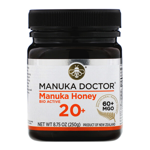 Manuka Honey Multifloral, MGO 60+, 8.75 oz (250 g)