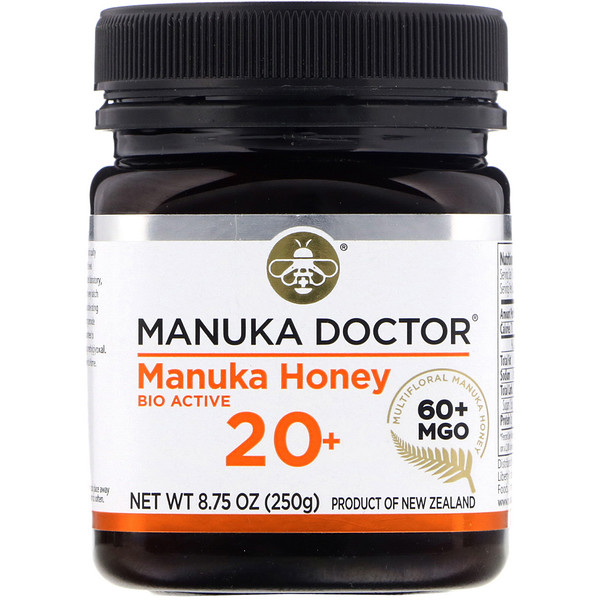 Manuka Doctor, 20+ Bio Active Manuka Honey, 8.75 oz (250 g)