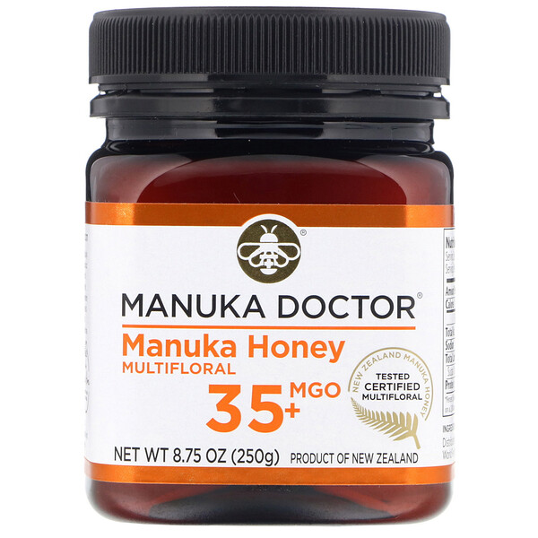 Manuka Doctor, Manuka Honey Multifloral, MGO 35+  , 8.75 oz (250 g)