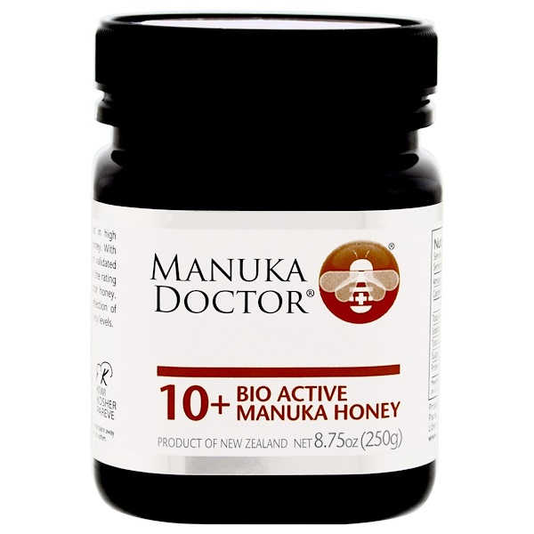 Manuka Doctor, Apiwellness, 10+ Bio Active Manuka Honey, 8.75 oz (250 g)