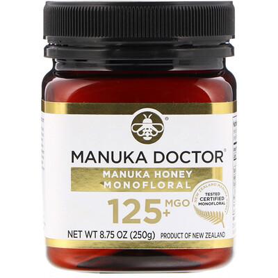 Купить Manuka Doctor Manuka Honey Monofloral, MGO 125+, 8.75 oz (250 g)