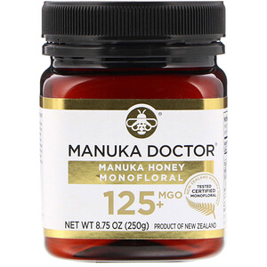 Манука доктор, Manuka Honey Monofloral, MGO 125+, 8.75 oz (250 g) отзывы