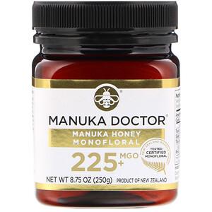 Манука доктор, Manuka Honey Monofloral, MGO 225+, 8.75 oz (250 g) отзывы