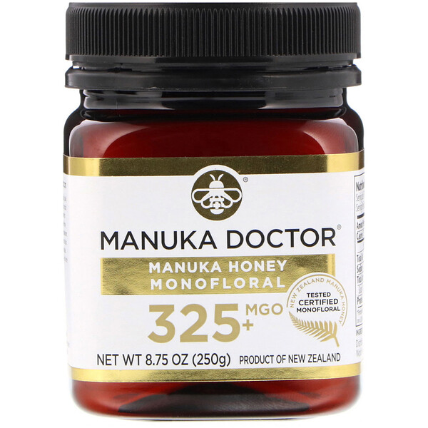 Manuka Honey Monofloral, MGO 325+, 8.75 oz (250 g)