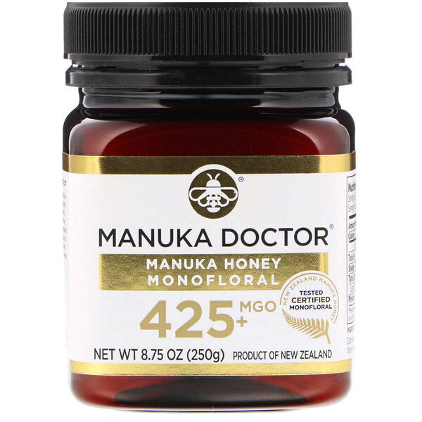 Manuka Honey Monofloral, MGO 425+, 8.75 oz (250 g)