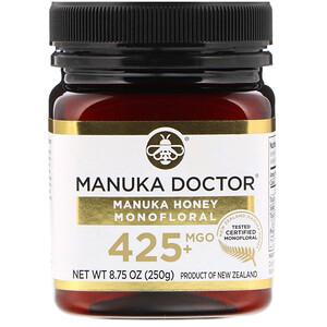 Манука доктор, Manuka Honey Monofloral, MGO 425+, 8.75 oz (250 g) отзывы