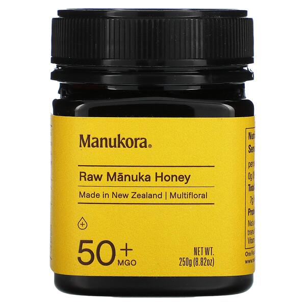 Raw Manuka Honey, 50+ MGO, 8.82 oz (250 g)