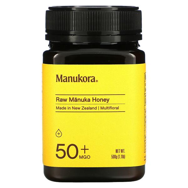Raw Manuka Honey, 50+ MGO, 1.1 lb (500 g)