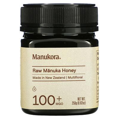 Manukora Raw Manuka Honey, 100+ MGO, 8.82 oz (250 g)