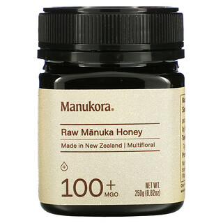 Manukora, Raw Manuka Honey, 100+ MGO, 8.82 oz (250 g)