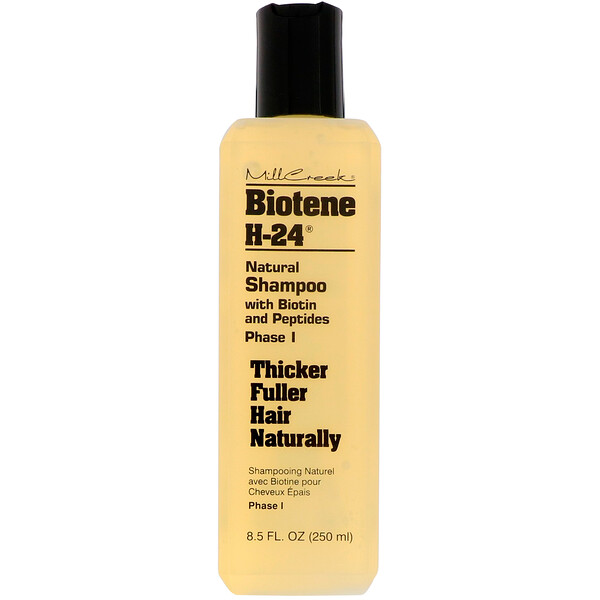 Natural Shampoo with Biotin and Peptides, Phase I, 8.5 fl oz (250 ml)