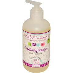 Mill Creek Botanicals, 嬰兒護髮洗髮水,額外清潔,8.5液量盎司(255毫升)