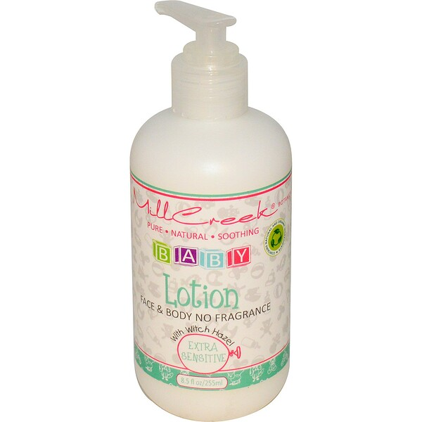 Mill Creek Botanicals, Baby Lotion with Witch Hazel, Extra Sensitive, 8.5 fl oz (255 ml)