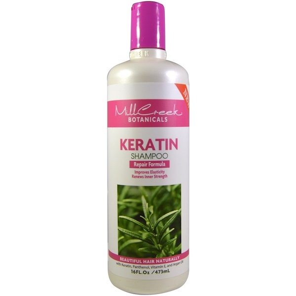Mill Creek, Keratin Shampoo, Repair Formula, 16 fl oz (473 ml)