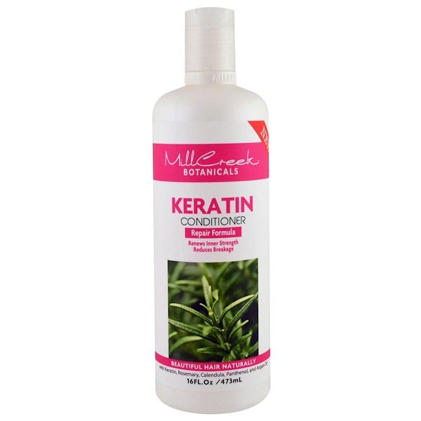 Mill Creek, Keratin Conditioner, Repair Formula, 16 fl oz (473 ml) (Discontinued Item)