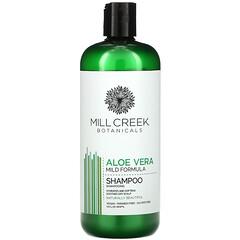Mill Creek Botanicals, 蘆薈洗髮水,溫和配方,14 液量盎司(414 毫升)