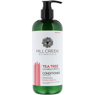 Mill Creek Botanicals, Tea Tree Conditioner, Calming Formula, 14 fl oz (414 ml)