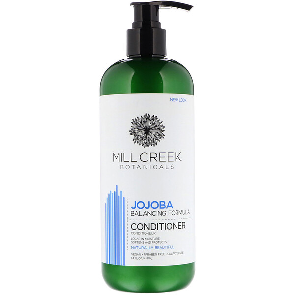 Mill Creek Botanicals, Jojoba Conditioner, Balancing Formula, 14 fl oz (414 ml)