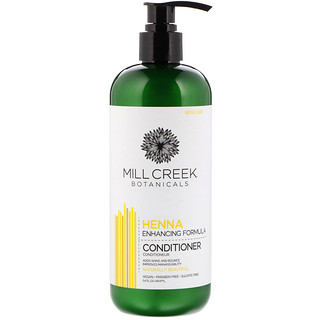 Mill Creek, Henna Conditioner, Enhancing Formula, 14 fl oz (414 ml)