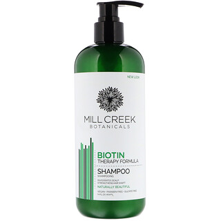 Mill Creek, Biotin Shampoo, Therapy Formula, 14 fl oz (414 ml)