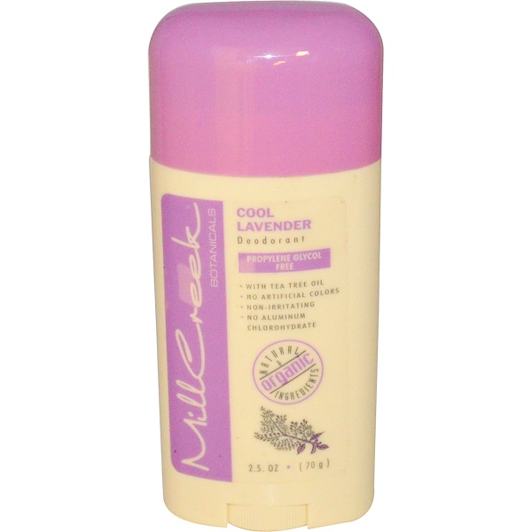 Mill Creek, Deodorant, Cool Lavender, 2.5 oz (70 g) (Discontinued Item)