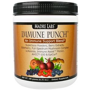 Мадрэ Лэбс, Immune Punch, An Immune Support Blend, 6.35 oz (180 grams) отзывы покупателей