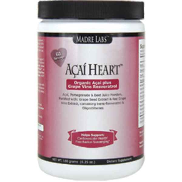 Madre Labs, Acai Heart, 6,35 унц. (180 г) (Discontinued Item)